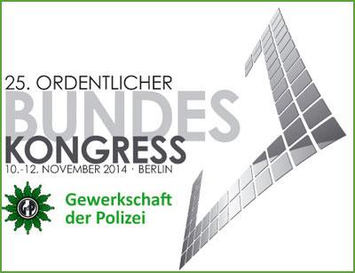 25. ordentlicher Bundeskongress der GdP