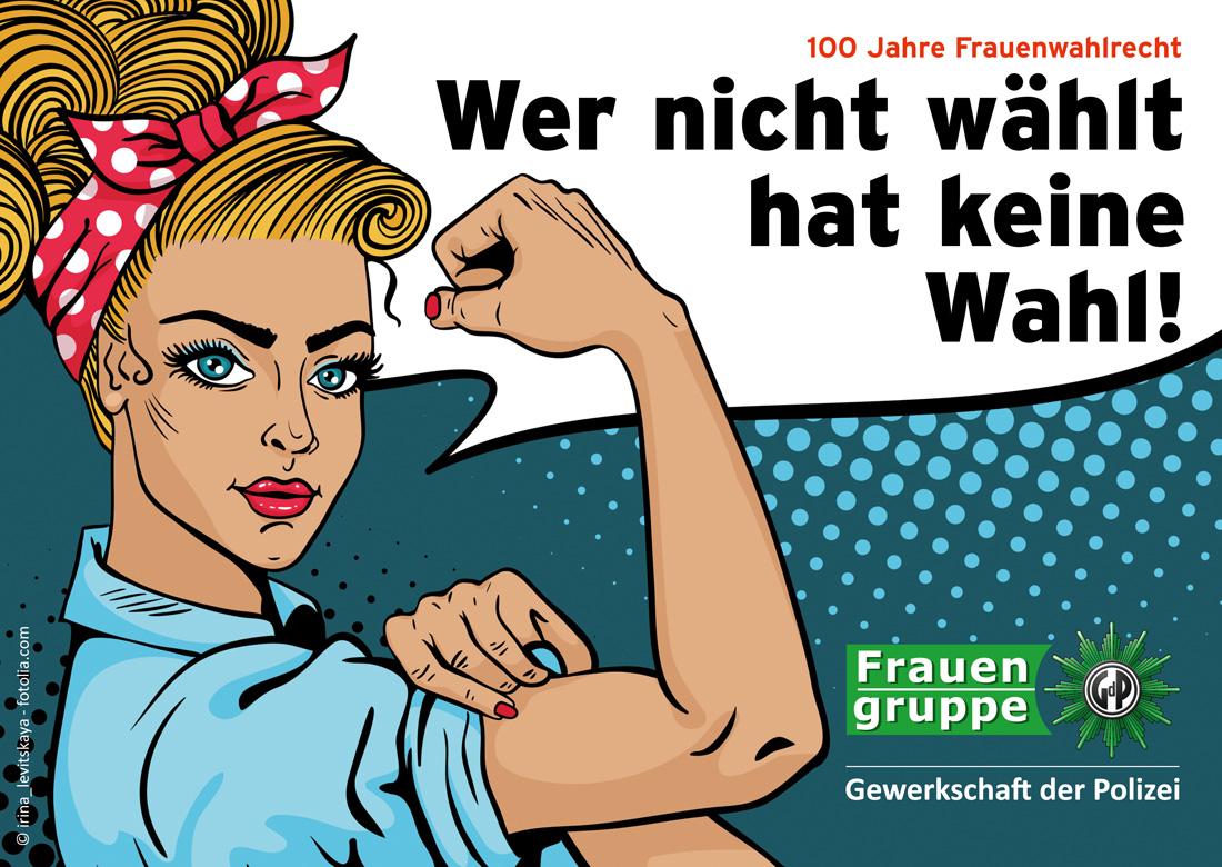 Wahlrecht Frauen Deutschland