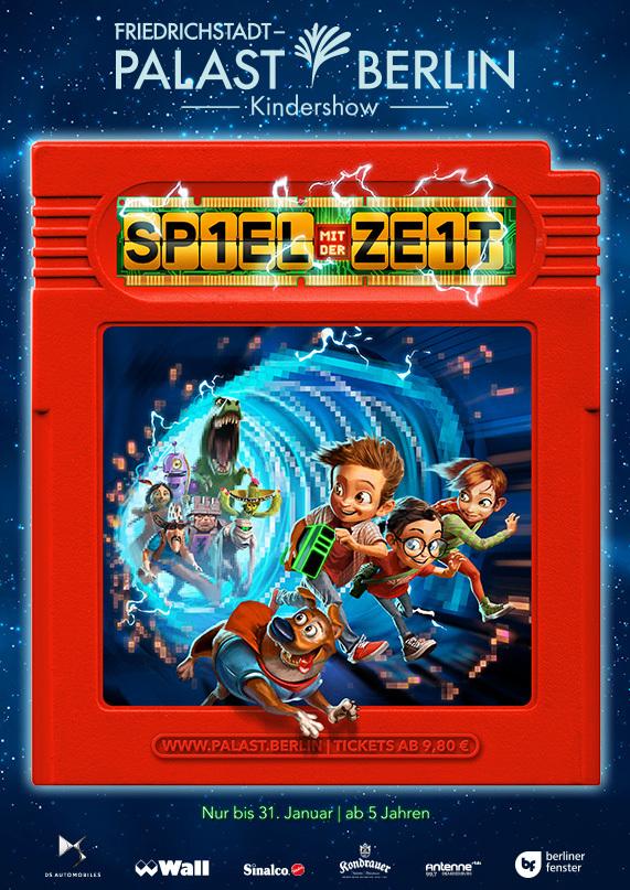 Tolles Gewinnspiel: 4x2 Karten für Kindershow im Friedrichstadt-Palast