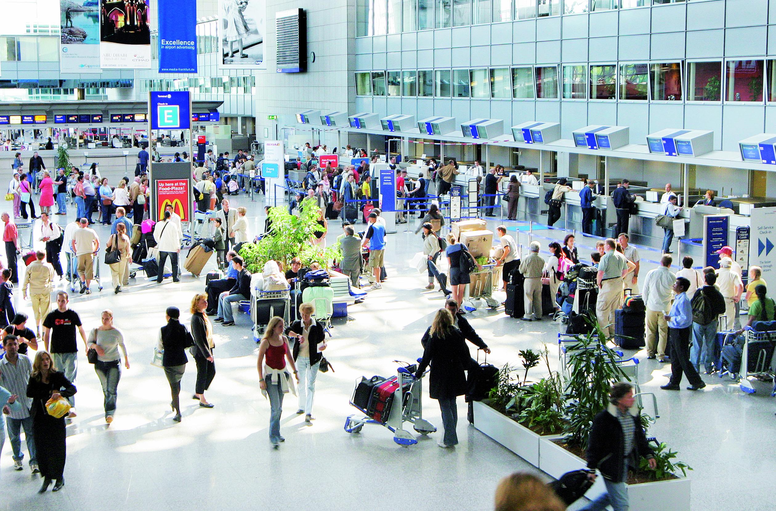 Terminal 2 Innenansicht - Foto: Fraport AG
