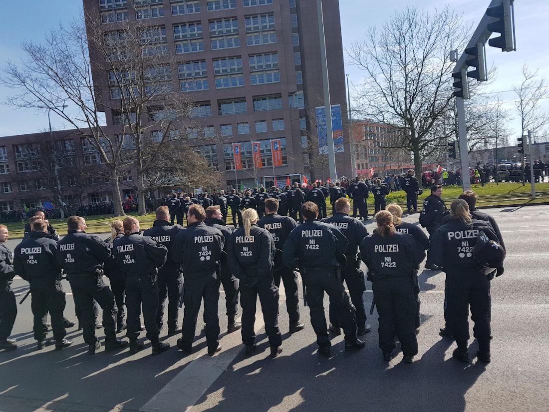 Afd Parteitag Braunschweig