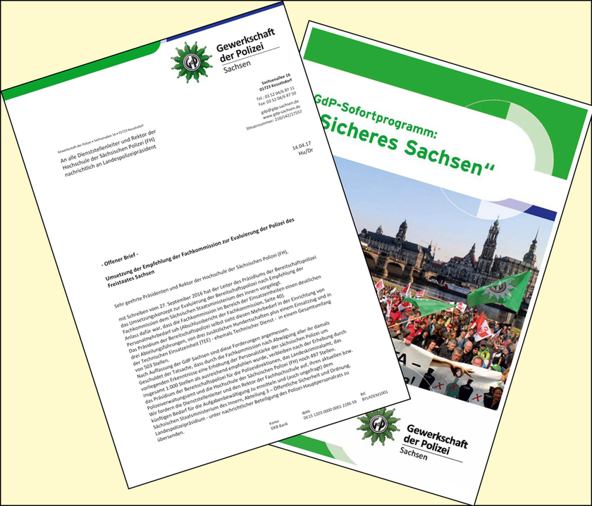 Offener Brief An Die Präsidenten Der Sächsischen Polizei